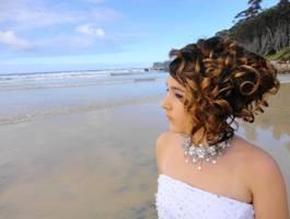 bridal wedding hair design