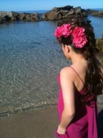 Beach look Hair design