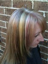 summer blonde pastels