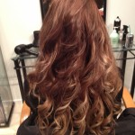 Finished and curled for a beautiful texture